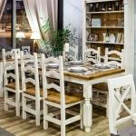 Jedálenský stôl biely