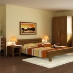 Drevená posteľ 180 x 200